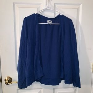 Cobalt Blue Old Navy Cardigan